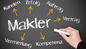Immobilienmakler in Berlin helfen bei der Suche nach dem passenden Käufer. © DOC RABE Media – Fotolia